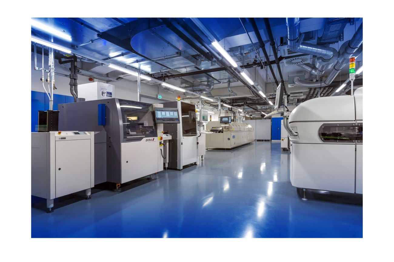 SMT production line and application lab