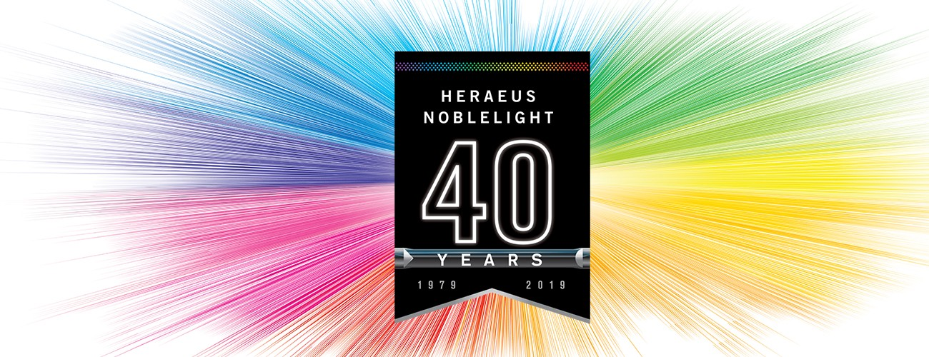 40 Years Heraeus Noblelight Ltd