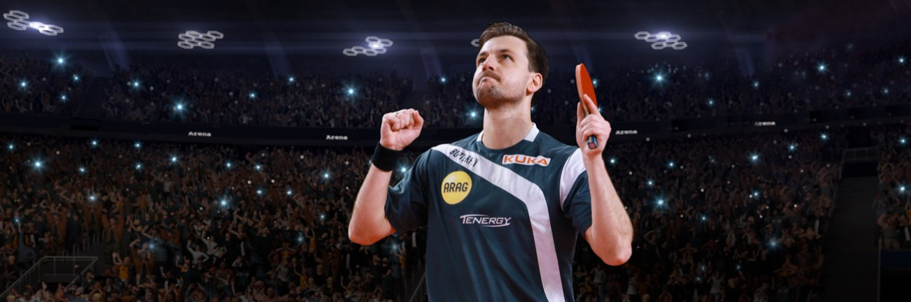Meet Timo Boll, World Champion on Table Tennis, at SNEC 2018.